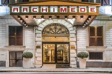 Archimede, Италия, Рим
