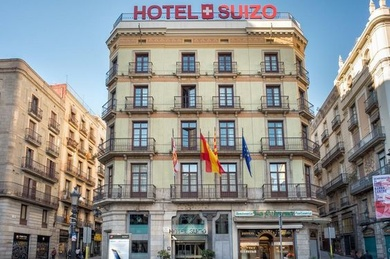 Hotel Suizo, Испания, Барселона