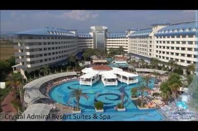 Crystal Admiral Resort Suite & Spa, Турция, Побережье Средиземного моря